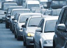 trafik för 3 driftstopp Arkivbild