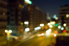 Trafik för Bur Dubai Arkivbild