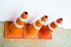 trafik för väg för färgkottebilaga set Royaltyfria Foton