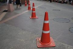 trafik för väg för färgkottebilaga set Arkivbild