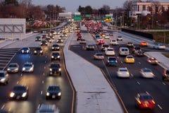 Trafik-Fairfax-län Royaltyfri Foto