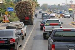 Trafik i Asien Royaltyfria Bilder
