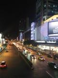 Trafik i Bangkok Thailand Arkivbild