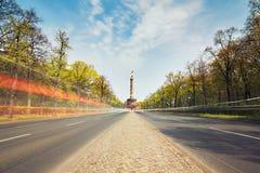 Trafik i berlin royaltyfri foto