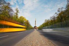 Trafik i berlin royaltyfri fotografi