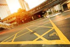 Trafik i Hong Kong arkivfoto