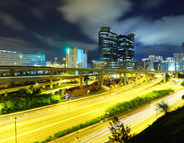 Trafik i stad royaltyfri fotografi