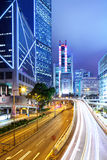 Trafik i stads- royaltyfri fotografi