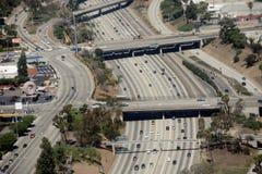 Trafik i sydliga Kalifornien royaltyfria bilder