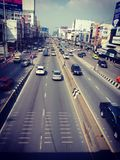 Trafik i Thailand arkivbilder
