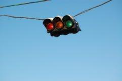 Trafik-lampa royaltyfri bild