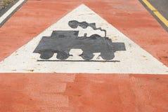 Trafik på vägen Thailand Arkivbild