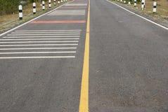 Trafik på vägen Thailand Royaltyfria Bilder
