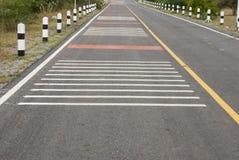 Trafik på vägen Thailand Royaltyfri Fotografi