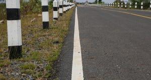 Trafik på vägen Thailand Arkivfoton