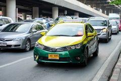 Trafikblodstockning som problemet behöver lösas i Bangkok Arkivbild