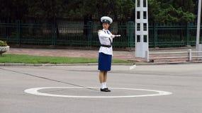 Trafikdirektör Royaltyfri Fotografi