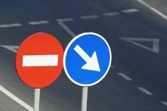 Trafikera signalerar fotografering för bildbyråer