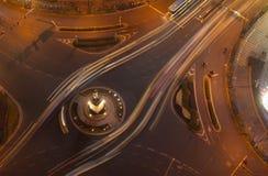 Trafikföreningspunkter Arkivfoton