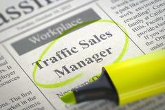 Trafikförsäljningschef Join Our Team 3d Royaltyfri Foto