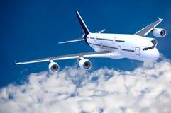 trafikflygplancommercial Royaltyfri Fotografi