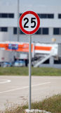 Trafikhastighetsallsång Arkivfoton