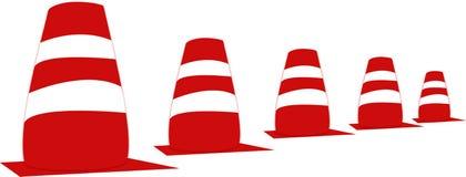 Trafikkottar vektor illustrationer