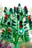 trafikljus Royaltyfria Foton