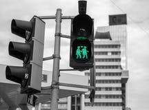 Trafikljus av Wien arkivfoto