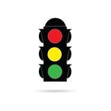 Trafikljus färgar Arkivbild
