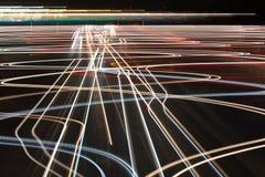 Trafikljus gör sammandrag bakgrund Arkivbild
