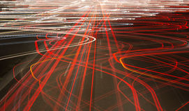Trafikljus gör sammandrag bakgrund Fotografering för Bildbyråer