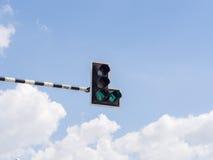 Trafikljus: Klartecken Arkivbilder