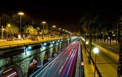 Trafikljusblur Royaltyfri Bild
