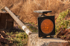 Trafikljuskonstruktion Royaltyfri Fotografi
