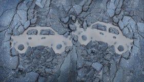 Trafikolycka Arkivbilder