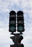 Trafiksignaler royaltyfri fotografi