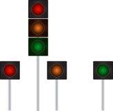 Trafiksignaler royaltyfri illustrationer