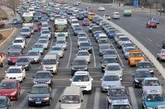 Trafikstockning Arkivbilder