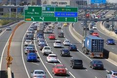 Trafikstockning Royaltyfri Bild