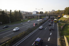 Trafikstockning Royaltyfria Foton