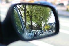 Trafikstockning i reserv royaltyfri foto