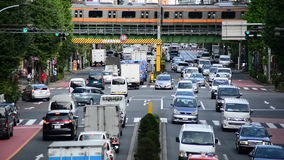 Trafique en Tokio almacen de video