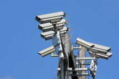 Trafiquez les appareils-photo Images libres de droits