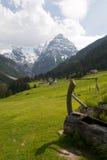 Trafoi village Royalty Free Stock Photo