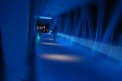 Traforo blu Immagini Stock