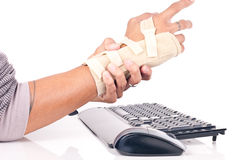 Traforo del Carpal immagine stock