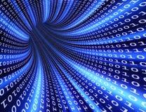 Traforo futuristico binario Immagini Stock Libere da Diritti