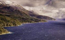 Trafull See, Patagonia stockfotografie