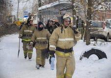 A tragédia em Ivanovo Fotografia de Stock